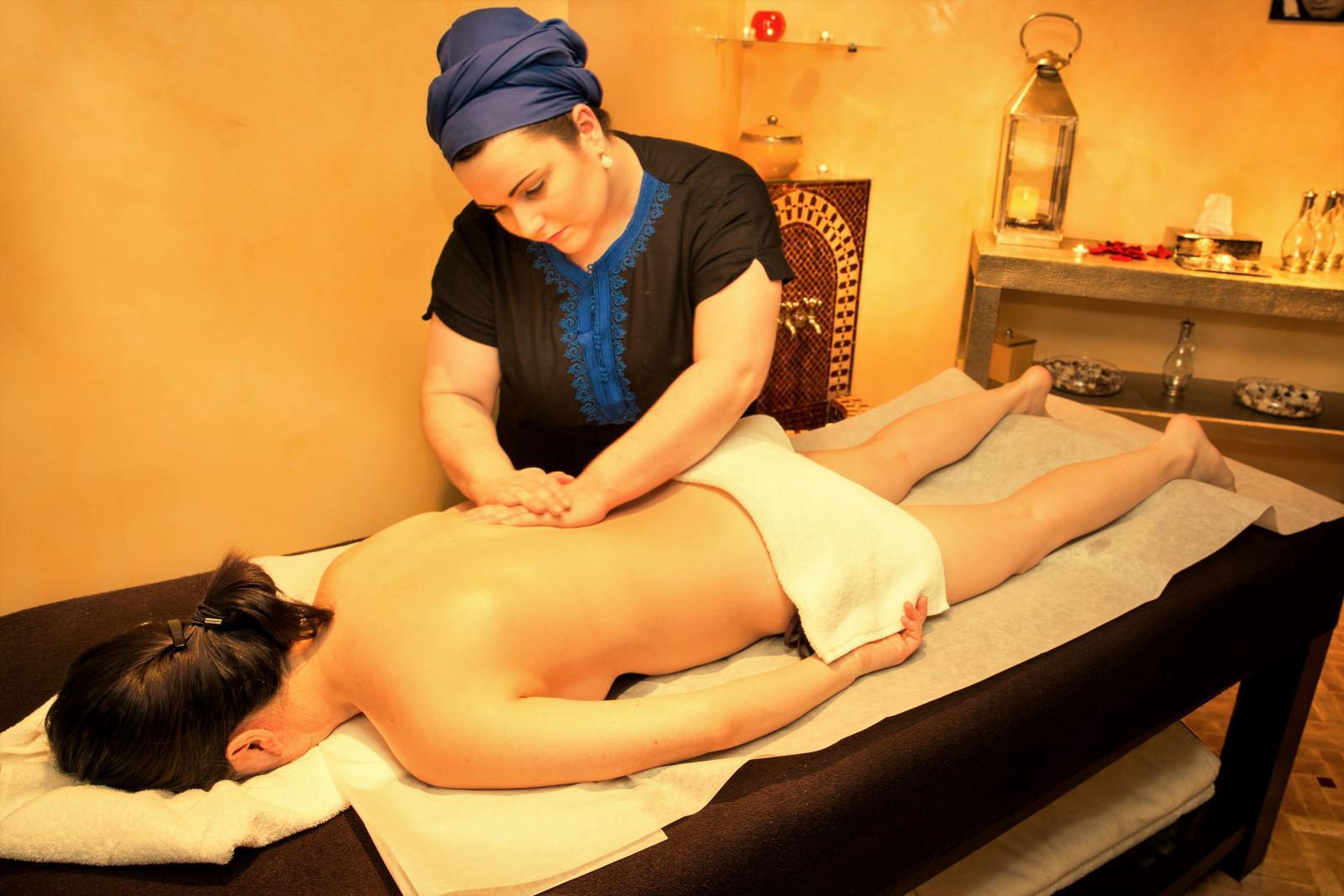 Hammam Les Cent Ciels - Massage sensoriel